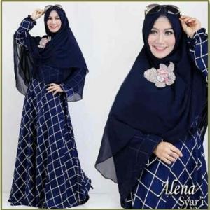 Baju Muslim Wanita Terbaru Alena Syar'i-1