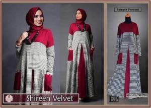 Busana Muslim Lebaran 2016 Shireen Velvet-1