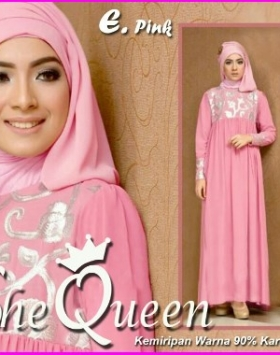 Busana Muslim Pesta Mewah She Queen-2