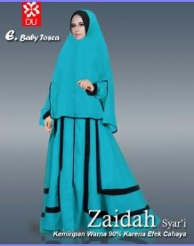 Baju Muslim Cantik Untuk Lebaran Zaidah Syar'i-1