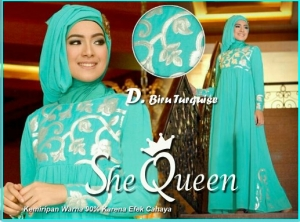 Busana Muslim Pesta Mewah-2 She Queen