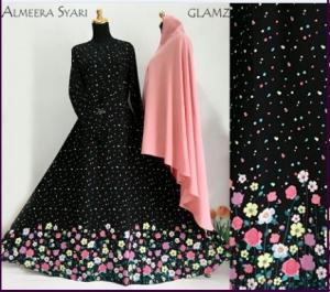 Gamis Cantik Dan Elegan Almeera Syar'i Terbaru