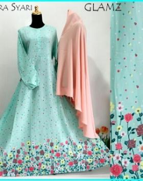 Gamis Cantik dan Elegan Almeera Syar'i-1 Terbaru