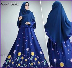 Baju Gamis Cantik Bahan Maxmara Rahma Syar'i-1