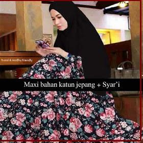 Busana Muslim Magda-1 Model Terbaru Bahan Katun Jepang