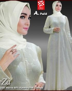 Busana Muslim Terbaru Bahan Wafel Zeza