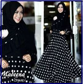 Busana Muslim Trendy Bahan Jersey Madena Syar'i-1