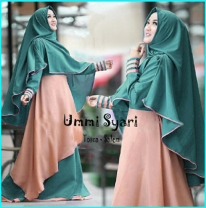 Busana Muslim Trendy Model Terbaru Ummi Syar'i-3