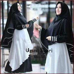 Busana Muslim Trendy Model terbaru Ummi Syar'i