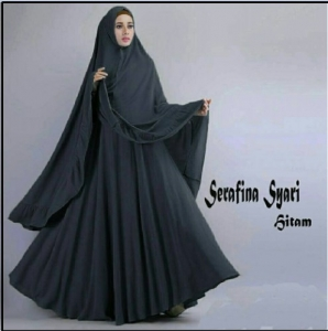 Gamis Syar'i Cantik Dan Anggun Serafina-6