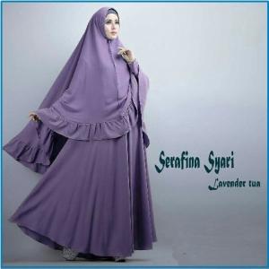 Gamis Syar'i dan Cantik Serafina-1