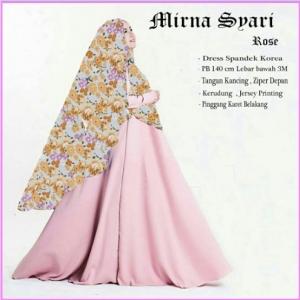 Baju Muslim Wanita Cantik Terbaru Mirna Syar'i