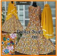 Baju Muslim Wanita Modern Bahan Prisket Syar'i-6
