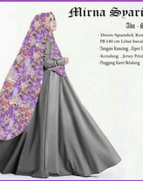 Busana Muslim Wanita Cantik Terbaru mirna Syar'i-4
