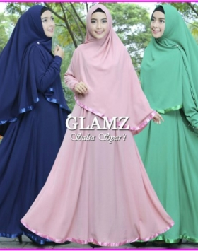 Gamis Online Bahan Bubble pop Salsa 2
