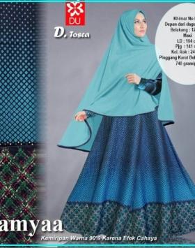 Busana Muslim Trendy Bahan Chambrey Lamyaa Tosca
