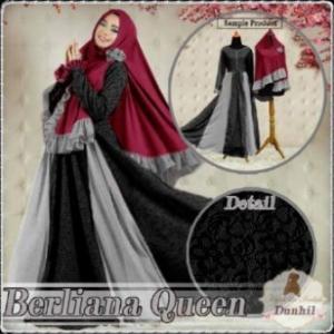 Baju Gamis Pesta Ukuran Kecil Berliana Queen