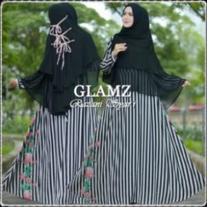 Baju Gamis Terbaru Modis Bahan Bubble Pop Razani Syar'i-a