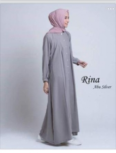 Baju Muslim Wanita Modis Rina-1 Ukuran Kecil