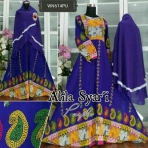 usana Muslim Pesta Terbaru Untuk Pesta Bahan Ceruty Alila Syar'i-3