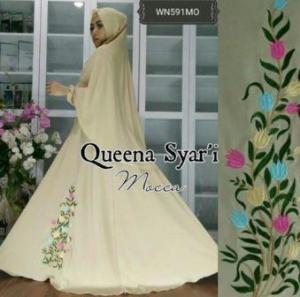 Busana Muslim Terbaru Dan Cantik Queena Syar'i-3