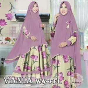Baju Muslim Dengan Ukuran Besar Vania Bahan Wafle Jacquard