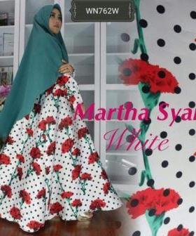 Busana Muslim Lebaran 2017 Martha Syar'i Bahan Jacquard