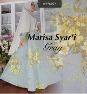 Gamis Busui Marisa Syar'i Bahan Serat Jagung