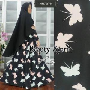 Gamis Jersey Beauty-4 Syar'i Trendy