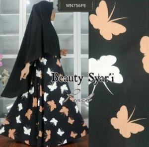 Gamis Jersey Beauty-5 Syar'i Trendy