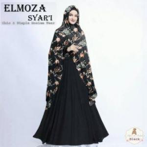 Gamis Elmoza Syar'i-2 Bahan Maxmara