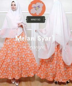 Agen Busana Muslim Wanita Ukuran Kecil Melanie Syar'i Bahan Maxmara