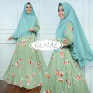 Distributor Baju Muslim Terbaru Navisha Syar'i Warna Minta Bahan Maxmara