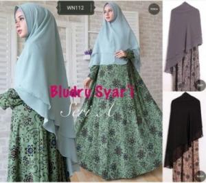 Distributor Baju Pesta Muslim Jumbo Bludru Syar'i Bahan Bludru