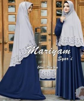 Jual Gamis Busui Bahan Maxmara Maryam Syar'i