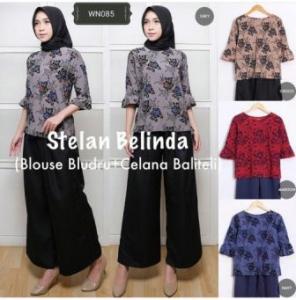 Supplier Baju Hijab Muslim Trendy Ukuran Kecil Stelan Belinda