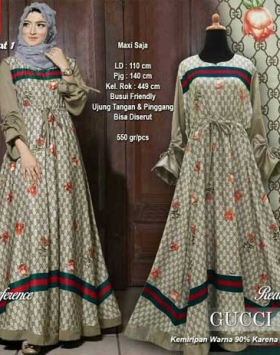 Agen Gamis Modern Gucci Dress