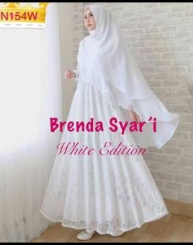 Supplier Baju Gamis Cantik Bahan Brukat