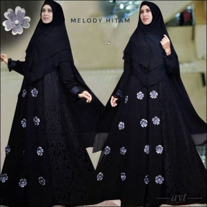 Busana Gamis Premium Melody Syar'i-1