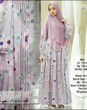 Jual Baju Gamis Cantik Fathiyah Syar'i Bahan Balodior