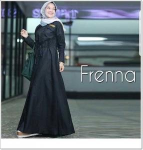 Jual Grosir Gamis Polos Freena Maxi Bahan Ima Platinum