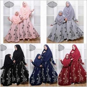 Baju Muslim Couple Ibu Dan Anak Olivia