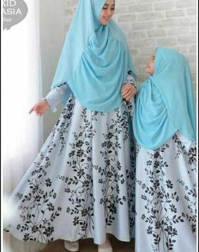 Baju Muslim Ibu dan Anak Anastasia-Syar'i Bahan Maxmara