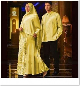Baju Muslim Agnia Couple Anggun Bahan-maxmara