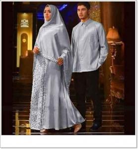 Baju Muslim Agnia Couple Bahan maxmara