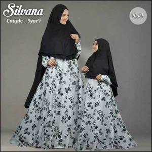 Gamis Ibu dan Anak Silvana Syar'i Bahan Monalisa