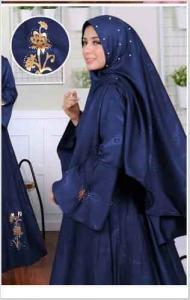 Jual Baju Gamis Syar'i Murah Tanah Abang Isabel Syar'i Bahan Baloteli