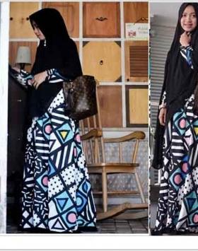 Baju Gamis Cantik Denira Syar'i Bahan Monalisa