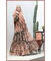 Gaun Pesta Muslimah Cantik Unik Bahan Cerutty baby doll Adena Three 2