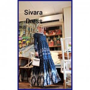 Baju Gamis Terbaru Tanah Abang 2021 Sivara Dress Bahan baby Tood